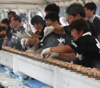2015年開催 西日本やきとり祭りin長門