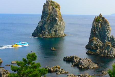 青海島観光汽船