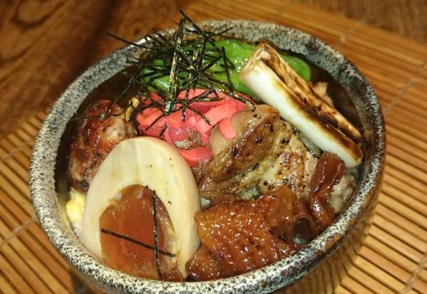 七星「長州焼鳥丼」