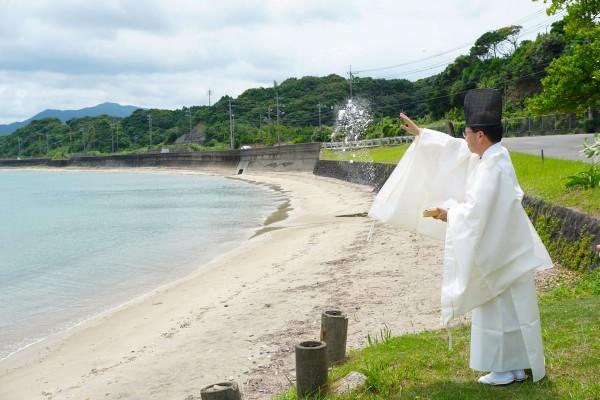 2010712_只の浜海水浴場 安全祈願祭