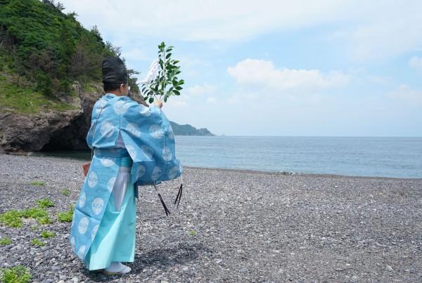 20170714_青海島キャンプ村安全祈願祭