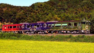 山陰観光列車「〇〇のはなし」(臨時貸切)で行く車窓吟行の旅
